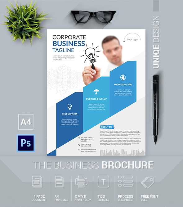 Download | Corporate Business Flyer Template