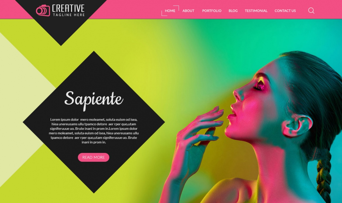 Download Creative Photography | Web Template