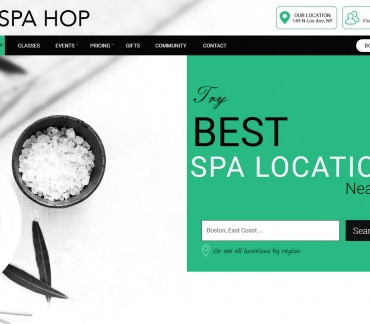 Download Spa Hop | Beauty Salon Wellness Template