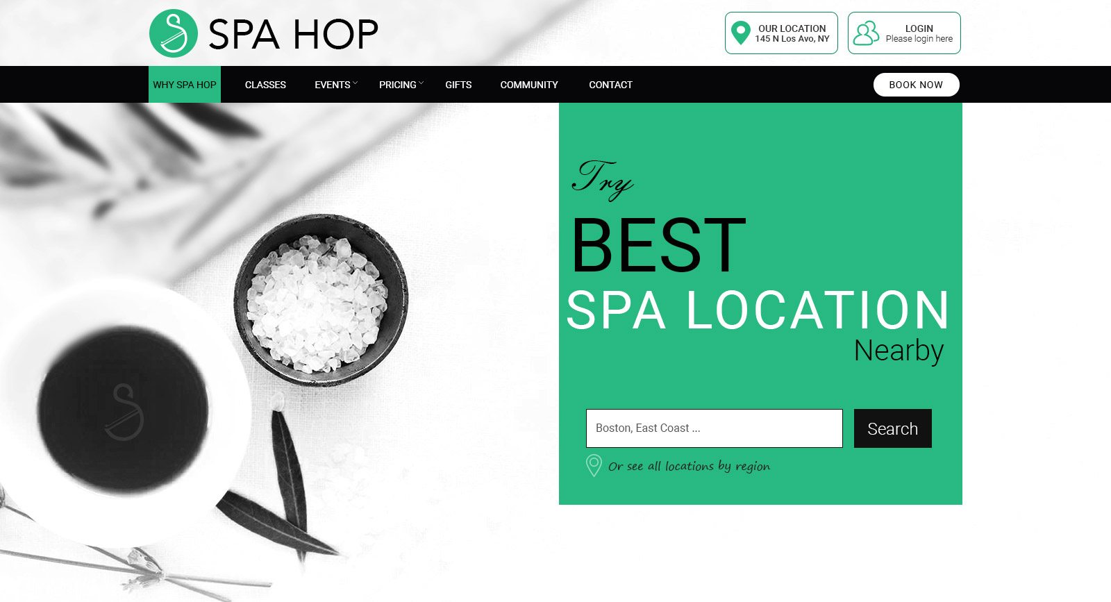 Download Spa Hop | Beauty Salon and Spa Template