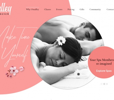 Omalley Spa | Beauty, Wellness Spa Template