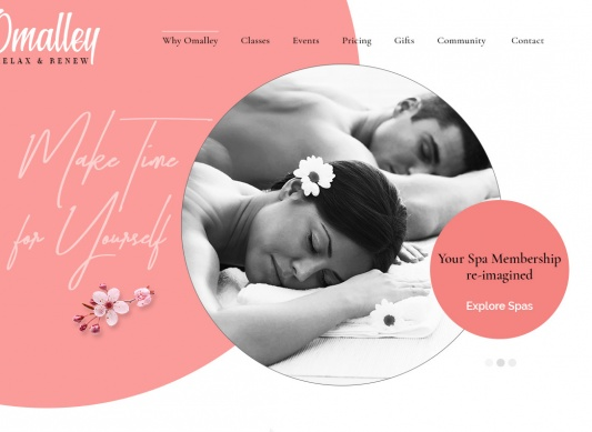 Download Omalley Spa | Beauty, Wellness Template