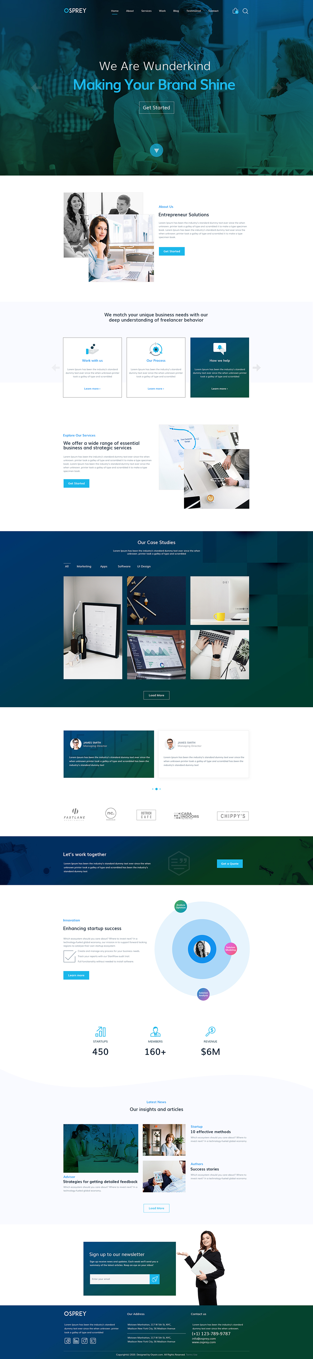 Spider Business Template