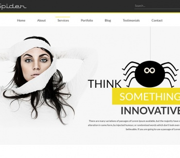 Spider Multipurpose Portfolio Template