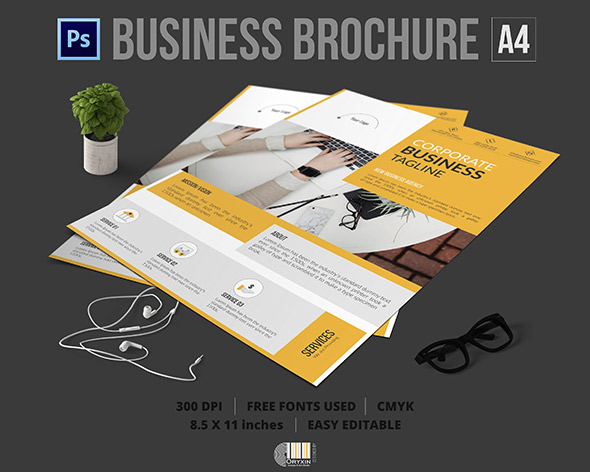 Download | Corporate Company Flyer Psd Template