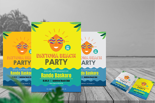 Download | Beach Party Flyer